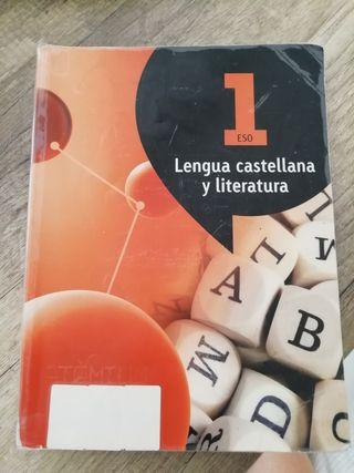 LIBRO DE CASTELLANO 1 ESO