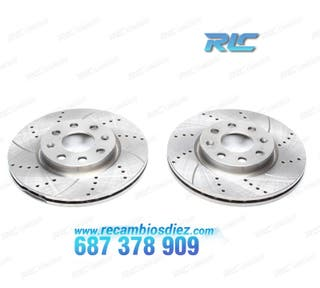 KIT DISCOS FRENO PARA FORD C-MAX(03-07)