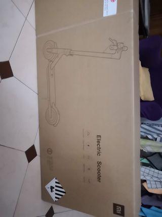 Patinete eléctrico Xiaomi nuevo sin estrenar