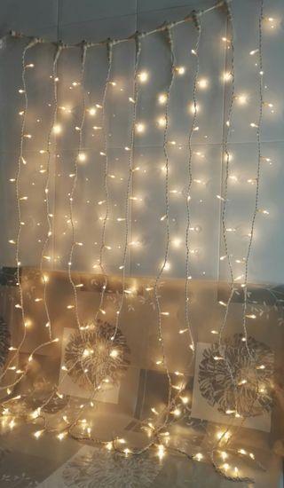 Cortina luminosa chulísima!!