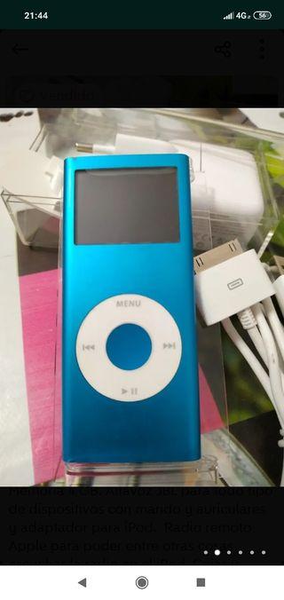 iPod nano 2° generación Altavoz JBL y Radio remoto