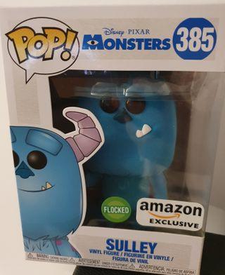 Funko Pop Sulley Flocked Amazon Exclusive 385.
