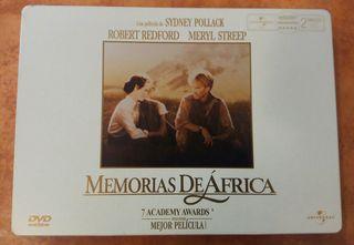 Memorias de Africa DVD Edición de Lujo