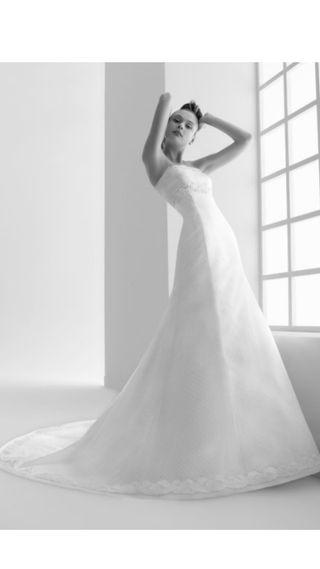 Vestido de novia Rosa Clará T.38