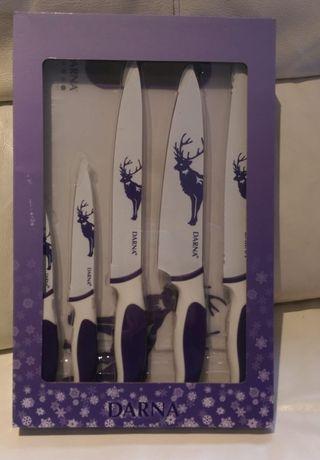Juego de cuchillos y tabla de cortar