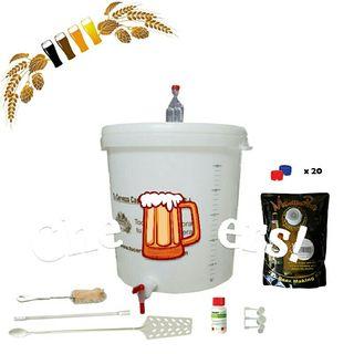 Kit para hacer cerveza casera