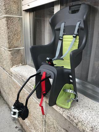 Silla porta bebé bicicleta