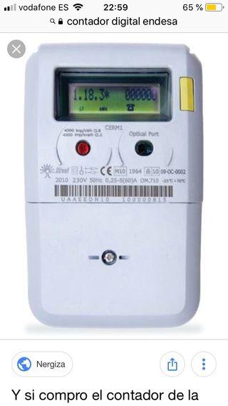 Electricista contadores digitales