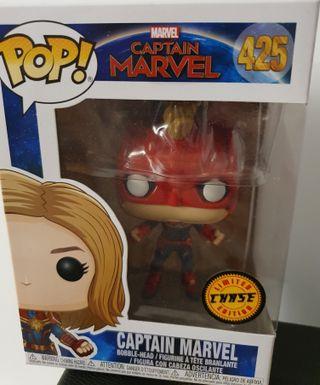 Funko Pop Capitana Marvel Chase. Captain Chase 425