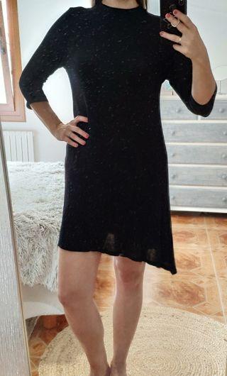 vestido mini negro