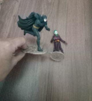 figura Batman y Joker