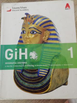 LIBRO GEOGRAFIA Y HISTORIA 1 ESO