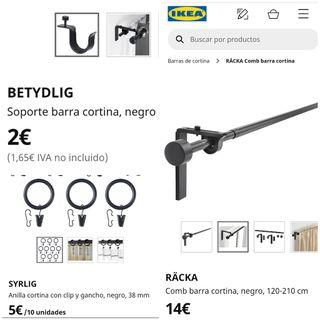 Cortina Ikea Completa NUEVA