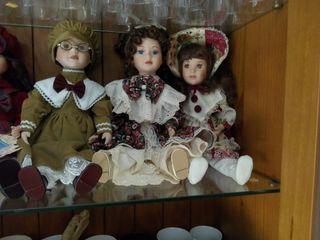 Muñecas porcelana.