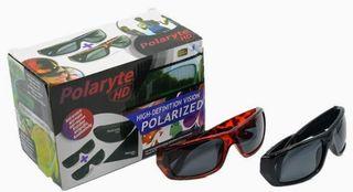 Gafas Polaryte HD 2 x 1 Polarizadas Sin Brillos