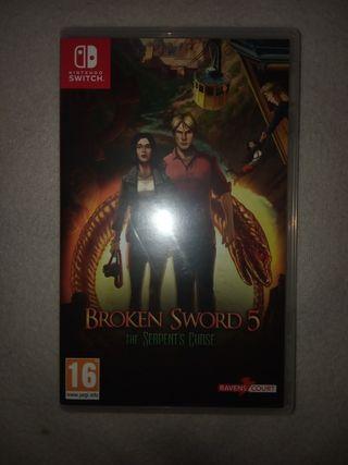 Broken sword 5 switch