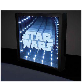 Lámpara led efecto infinito Star Wars