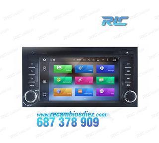 Radio Navegador 7 GPS DVD Android 8,0 para Seat L