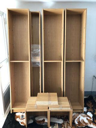 Estanterías libros Ikea