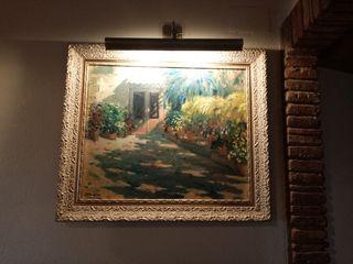 cuadro oleo en lienzo tela artista doblas
