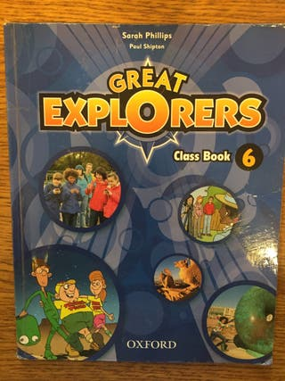 Great Explorers class book 6º