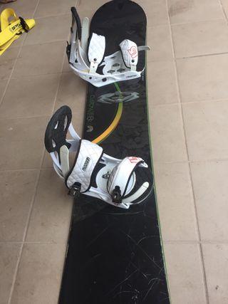 Tabla Snowboard Burton + fijaciones