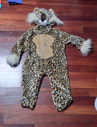 Disfraz leopardo niños T2/3 años