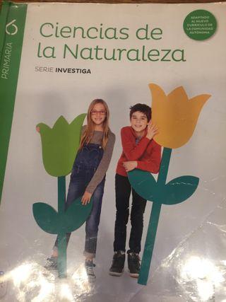 Ciencias naturaleza 6º