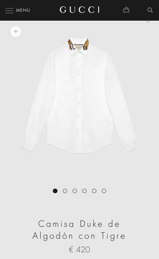 dca549642 Camisas Gucci de segunda mano en WALLAPOP