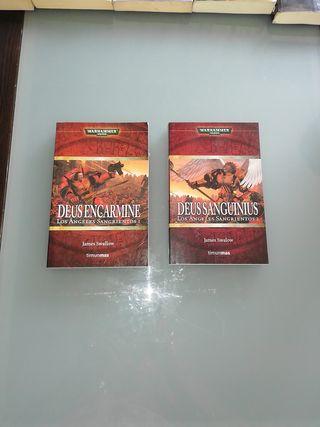 Libros Warhammer 40000. Angeles Sangrientos