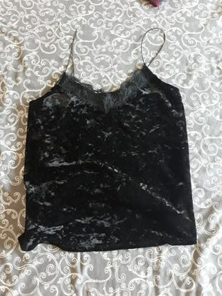 Camiseta terciopelo