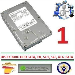 Discos Duros HDD SATA, IDE, SCSI, SAS, ATA, PATA
