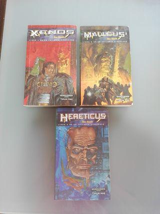 Libros Warhammer 40000 la trilogía de Eiemhorn