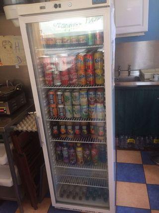 armario expositor nevera bebidas 1 puerta