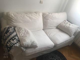 Sofá cama matrimonio seminuevo blanco
