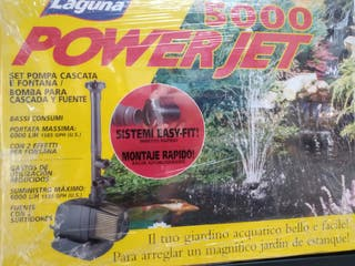 BOMBA DE ESTANQUE LAGUNA POWER JET 5000