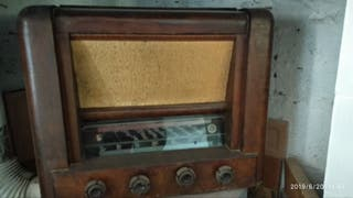 radio vintage oferta!!! con altavoz y transformado