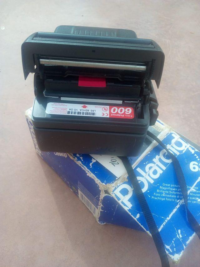 Camara instantanea,Polaroid 636 Closeup