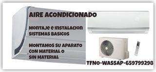 AIRE ACONDICIONADO-INSTALACION BASICA-