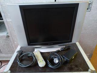 """Monitor PC y TV Elbe de 17"""" TFT-LCD + TDT externo"""