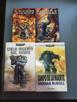 Libros Warhammer 40000. Ultramarines.