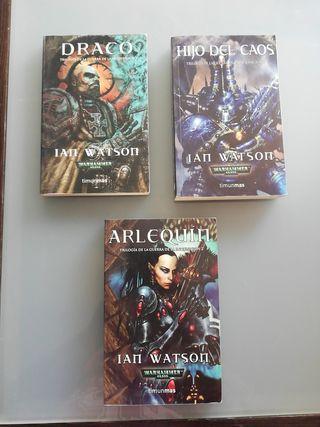 Libros Warhammer 40000. Trilogía de la inquisición