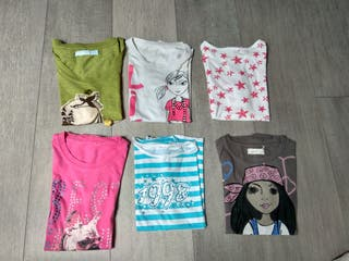 6 camisetas de NIÑA.