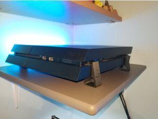 Soporte para PS4 playstation 4 slim - pro - fat 3d