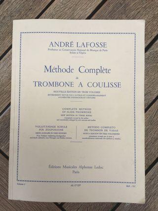Libro de trombón André Lafosse