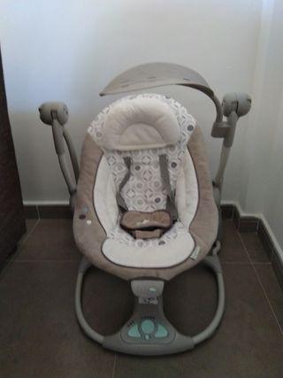 287ee33f9 Columpio bebé de segunda mano en Málaga en WALLAPOP