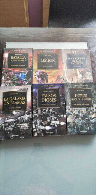 Libros Warhammer 40000. La herejía de Horus.