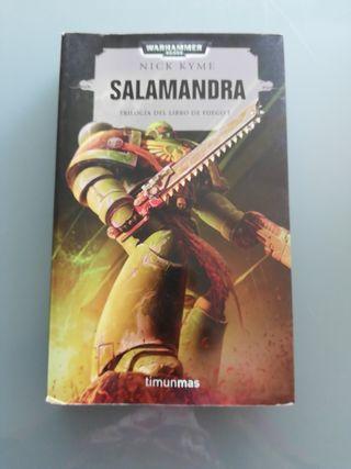 Libros Warhammer 40000. Salamandra.