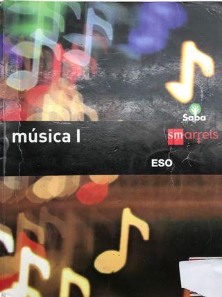 """Libro Música I (2 ESO) """"SM"""""""