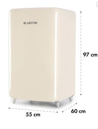 Mini Nevera Klarstein PopArt-Bar Crema Nueva